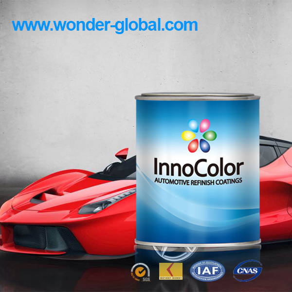 High Gloss 1k Metallic Colors Paint for Car Repair