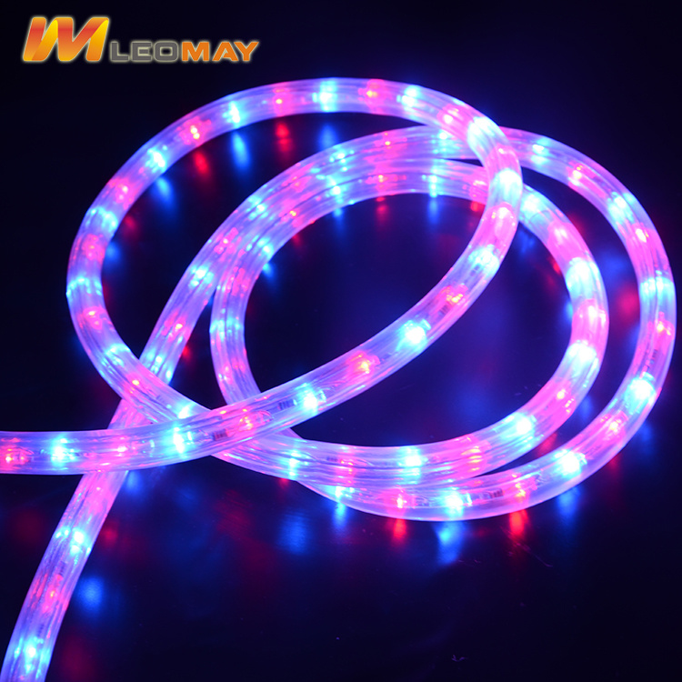 Outdoor Decoration Light Eco-Friendly 2 Wire Vertical LED Rope Light