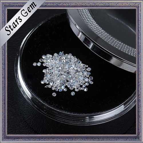 1.0mm 0.005CT Round Brilliant Cut Loose Moissanite Stone