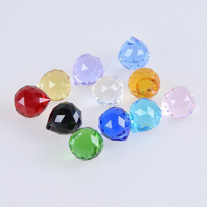 Top Quality Faceted Decoration 60mm Crystal Ball