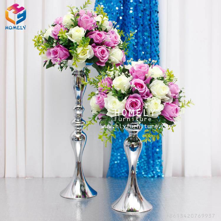 Tabe Centerpieces Metal Decoration Wholesale for Wedding Party