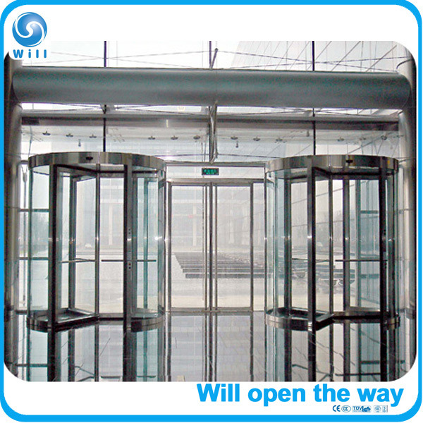 3-Wing Automatic Revolving Doors