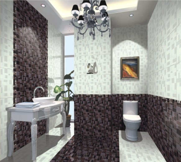 Porcelain Tile, Soluble Salts, 600X600mm Lobby, Bathroom, Crystal, Prati