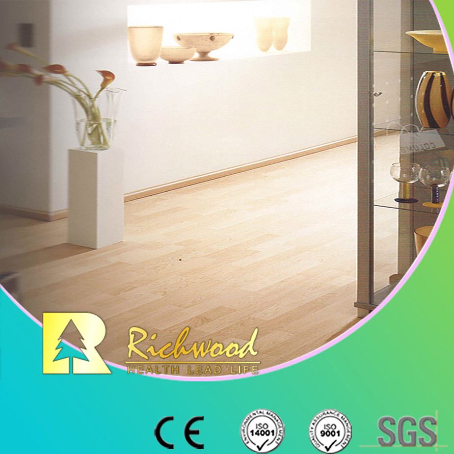 Commercial 8.3mm HDF AC3 Crystal Sound Absorbing Laminated Flooring