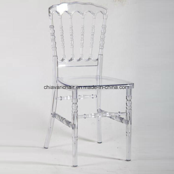 Clear Transparent Polycarbonate Resin Chairs Napoleon