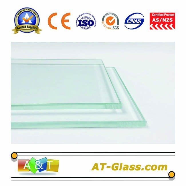 2-25mm Clear Glass Low Iron Float Glass Used for Bathroom Furniture