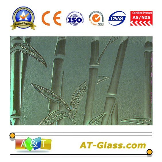 4mm Clear Bamboo Patterned Glass