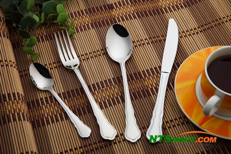 Stainless Steel Flatware in Full Range (N000021294-21303)
