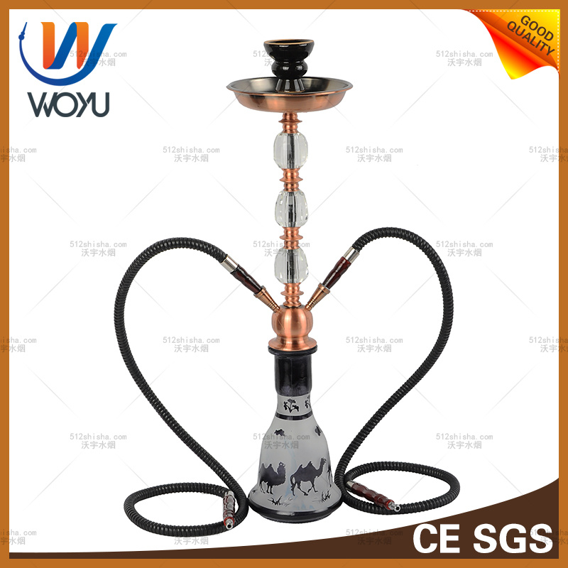 Camel Stainless Steel Pipe Smoking Set Hookah