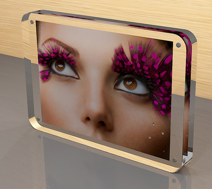 Desktop Acrylic Crystal Photo Frame