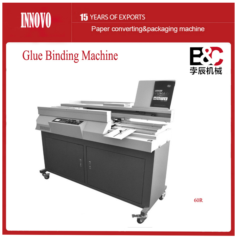 Automatic Design Structure Glue Binding Machine (60R)