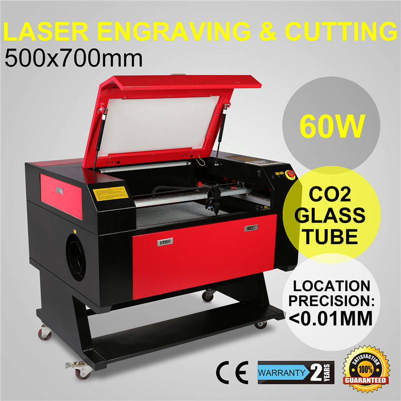 Kh750 700*500mm 60W CO2 Laser Cutting Engraving Machine