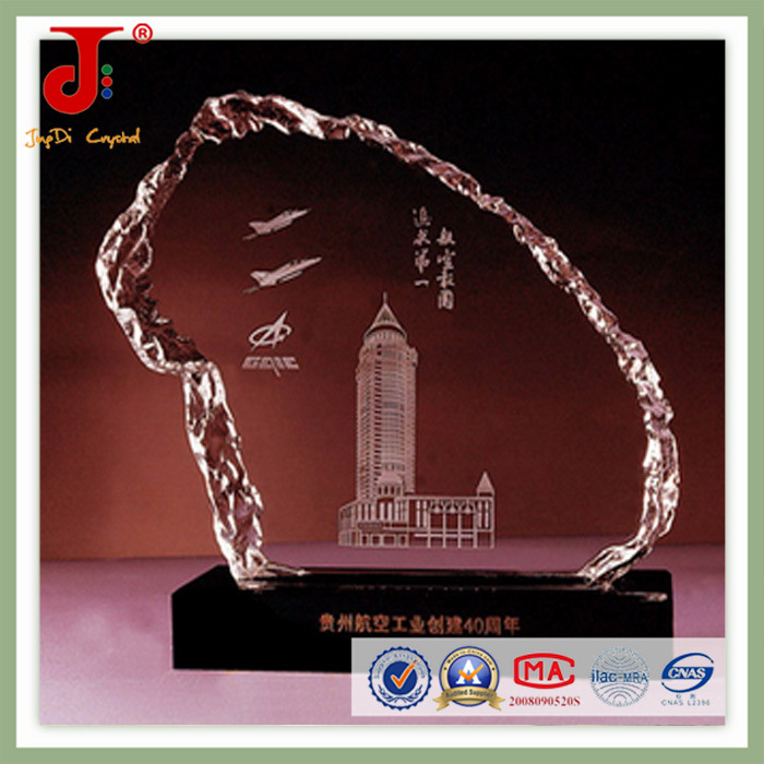Crystal Trophies and Awards Plaque (JD-CB-312)