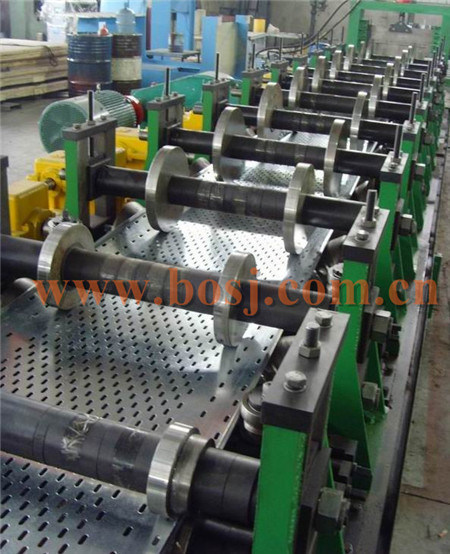 Outdoor Perforated Electric Cable Tray Roll Forming Production Machine Australia