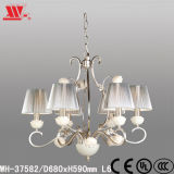 New Designed Chandelier with Fabric Shades Wh-37582
