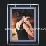 LED Poster Crystal Glass Frame Light Box