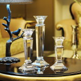 Crystal Candlestick, European Style Home Decoration, Wedding Candle Holder