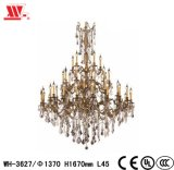 Luxury Crystal Chandelier with Glass Chains Wh-3627