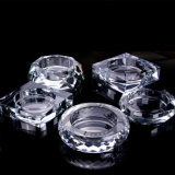 Glass Ashtray Creative Personality Trend Multi-Function Lovely Crystal Ashtray Large European Living Room Household.