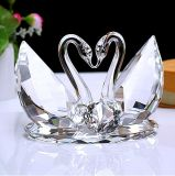 Crystal Swan as Wedding Decoration