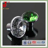 Insert 50mm Big Green Diamond Crystal Door Handle