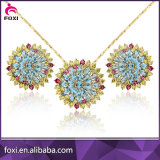 China Wholesale 18K Gold Plating Fine Jewelry Sets for Women Party