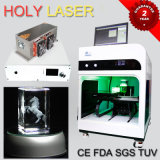 Yiwu Factory Hot Sale 3D Crystal Glass Laser Engraving Machine with Low Maintain