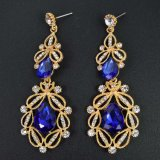 8 Colors Long Crystal Drop Earrings for Women