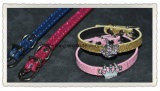 Custom Pet Collar with Crystal Charms, New Design Pet Products