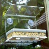Acrylic Mount Bird Feeder Window Wild Bird Feeder