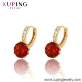 27431 Fashion Hot Sales Diamond Earring Drop in 18K Gold Color Diamond Jewelry