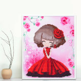 Factory Direct Wholesale Cross Stitch DIY Diamond Painting Canvas Painting K-001