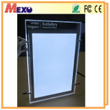 Hanging Magnetic Crystal Slim LED Light Box for Advertising