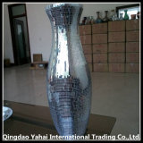 Decorative Houseware Glass Vase with Glass Paster