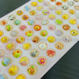 Wholesale Rhinestone Crystal Acrylic Sticker for Kids
