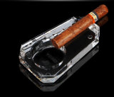 Cigar Ashtray Men's Personality Crystal Clear Glass Gift Practical Living Room Decoration