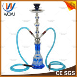 Shisha Neptune Blue Glass Pipes Water Cut Tobacco Shisha