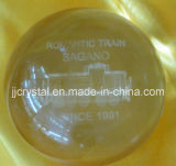 Crystal Glass Paperweight in China Style