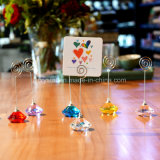 Crystal Place Card Holder Diamond Table Confetti Party Wedding Table Decorati