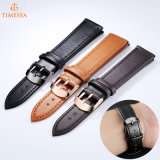 Custom Logo Wholesale Real Leather Strap Men and Women Cuff Watch Strap