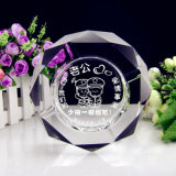Crystal Ashtray Square Octagonal Creative Gift Living Room Bedroom KTV Personality Customized to Send Father Husband