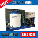Icesta Commercial Hotel Ice Machine with Crystal Flake Ice