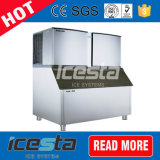 Stainless Steel Ice Cube Making Machine with 1000kg Capacity